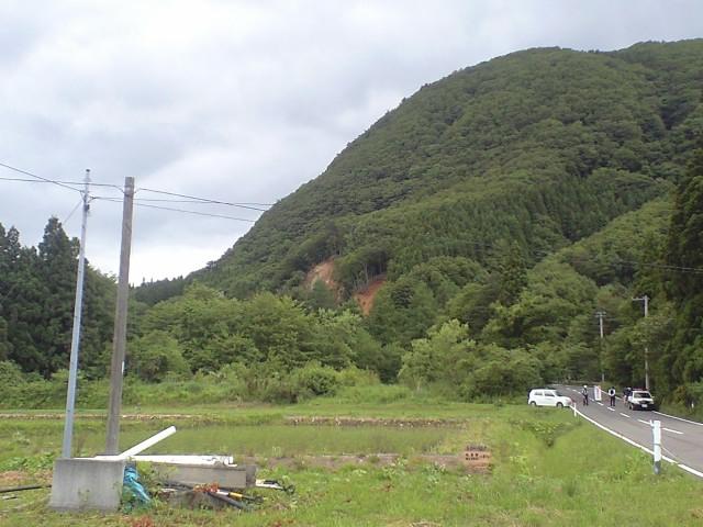 一関市磐井川矢櫃ダム付近